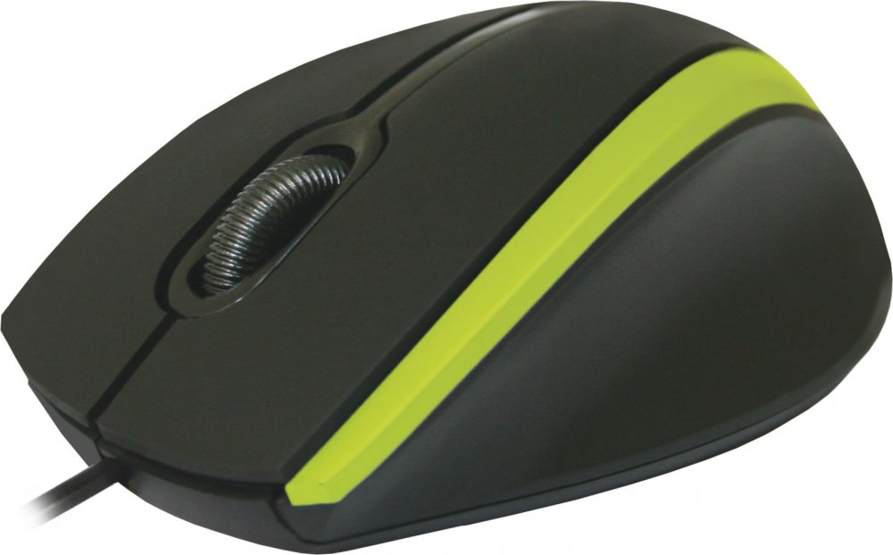 Мышь Defender MM-340 Black/Green