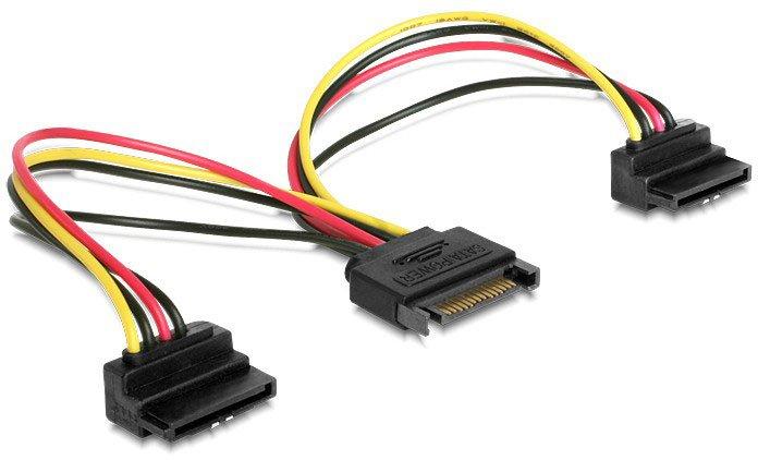 Разветвитель Gembird SATA - 2x SATA, 0.15м (CC-SATAM2F-02)