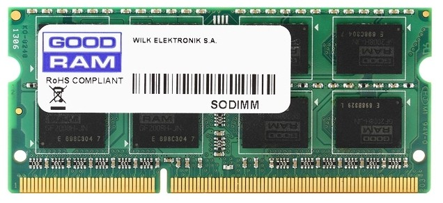 Оперативная память 4Gb DDR4 2400MHz GOODRAM SO-DIMM (GR2400S464L17S/4G)