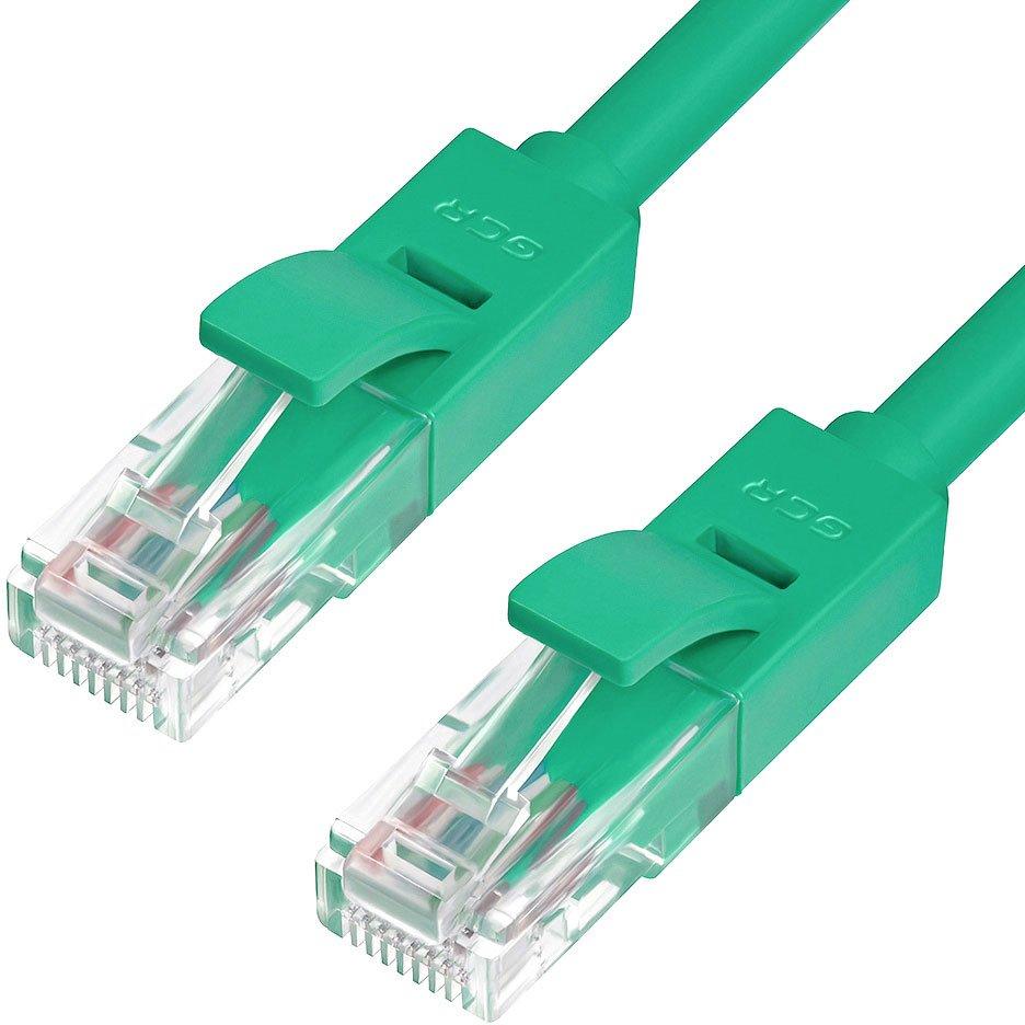 Патч-корд Greenconnect UTP 5e, 0.5м (GCR-50694)