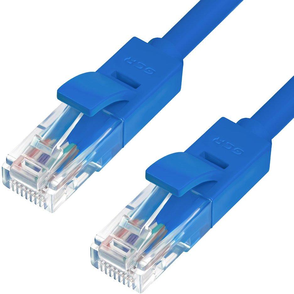 Патч-корд Greenconnect UTP 5e, 1м (GCR-50679)