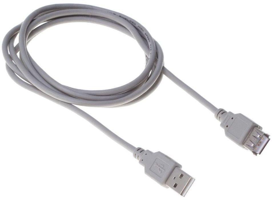 Кабель удлинительный Buro USB 2.0 A (M) - A (F), 3м (BHP RET USB_AF30)
