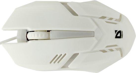 Мышь Defender Сyber MB-560L White USB (52561)