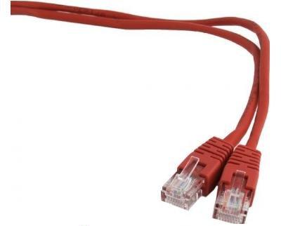 Патч-корд Gembird UTP 5e, 0.5м (PP12-0.5M/R)