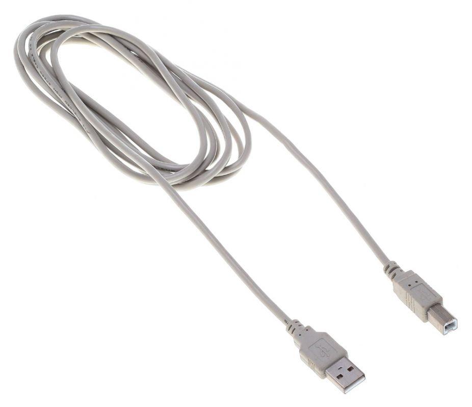 Кабель Buro USB 2.0 A (M) - B (M), 3м (BHP RET USB_BM30)