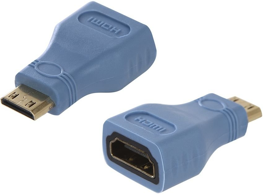 Переходник Greenconnect HDMI (F) - Mini HDMI (M) (GCR-50937)