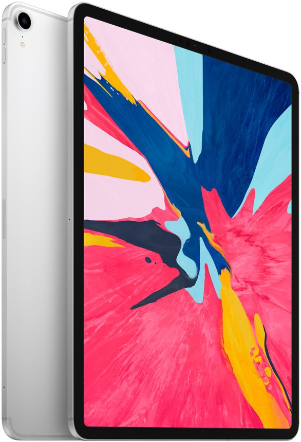 Планшетный компьютер Apple iPad Pro 12.9 64Gb Wi-Fi + Cellular Silver (MTHP2RU/A)