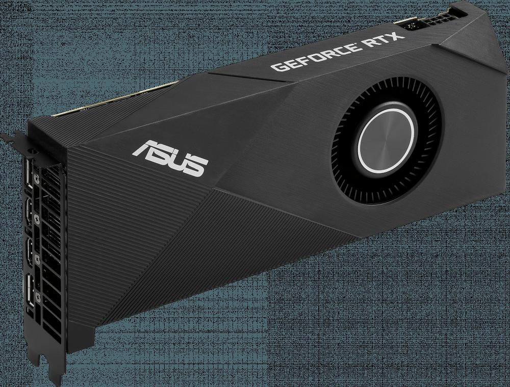 Видеокарта nVidia GeForce RTX2060 ASUS PCI-E 6144Mb (TURBO-RTX2060-6G)