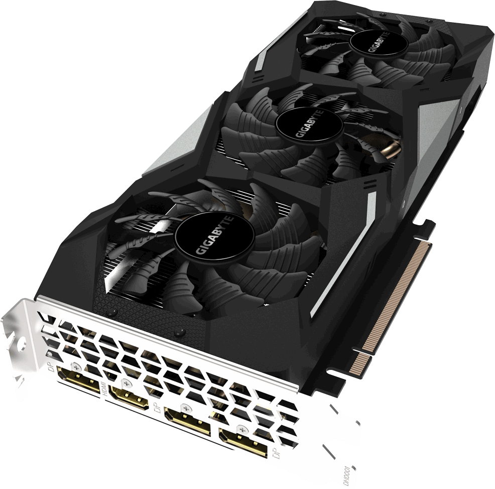 Видеокарта nVidia GeForce GTX1660 Gigabyte PCI-E 6144Mb (GV-N1660GAMING OC-6GD)