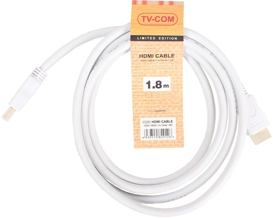 Кабель TV-COM HDMI - HDMI v1.4, 1.8m (CG150SW-1.8M)