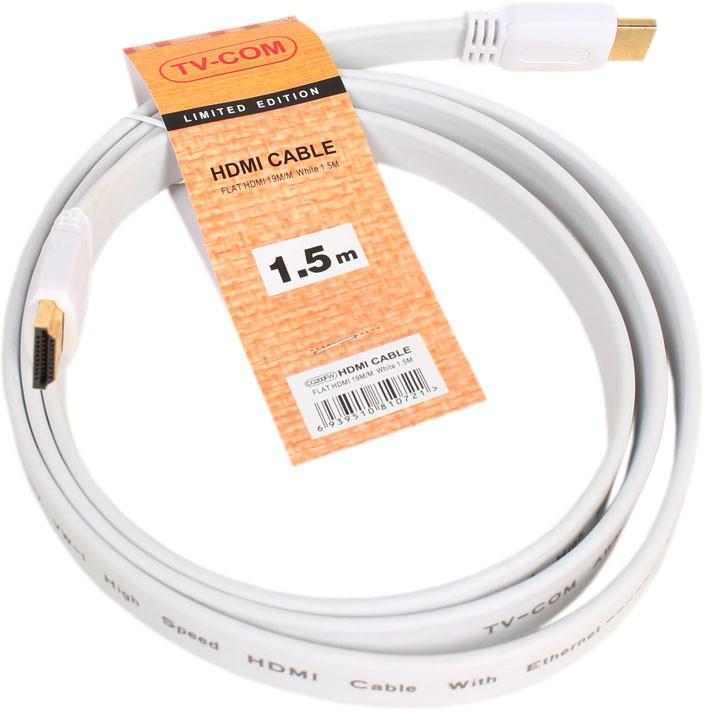 Кабель TV-COM HDMI - HDMI v1.4, 1.5m (CG200FW-1.5M)