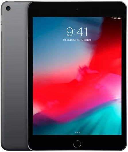 Планшетный компьютер Apple iPad mini (2019) 64Gb Wi-Fi Space Grey (MUQW2RU/A)
