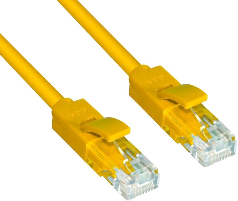 Патч-корд Greenconnect UTP 5e, 0.1м (GCR-LNC02-0.1m)