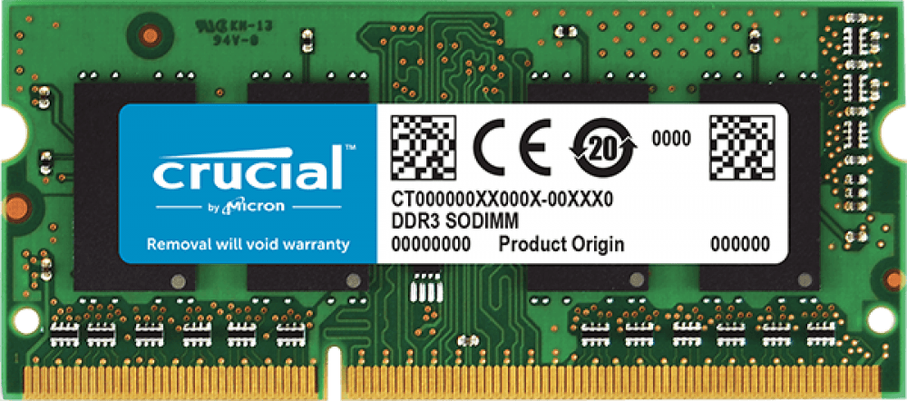 Оперативная память 4Gb DDR-III 1600MHz Crucial SO-DIMM (CT51264BF160BJ)