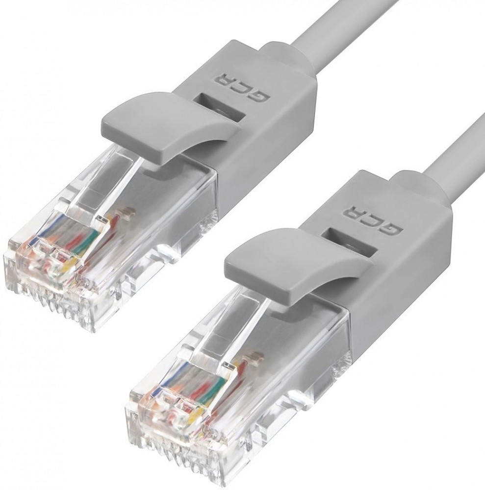 Патч-корд Greenconnect UTP 5e, 0.2м (GCR-51020)