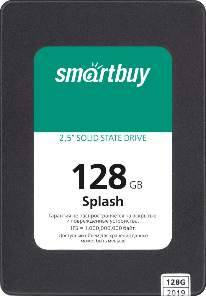 Твердотельный накопитель 128Gb SSD SmartBuy Splash (SBSSD-128GT-MX902-25S3)
