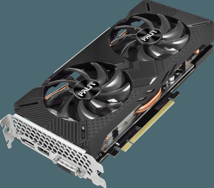 Видеокарта nVidia GeForce GTX1660 Super Palit GamingPro OC PCI-E 6144Mb (NE6166SS18J9-1160A)