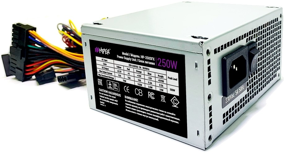 Блок питания 250W HIPER HP-250SFX OEM