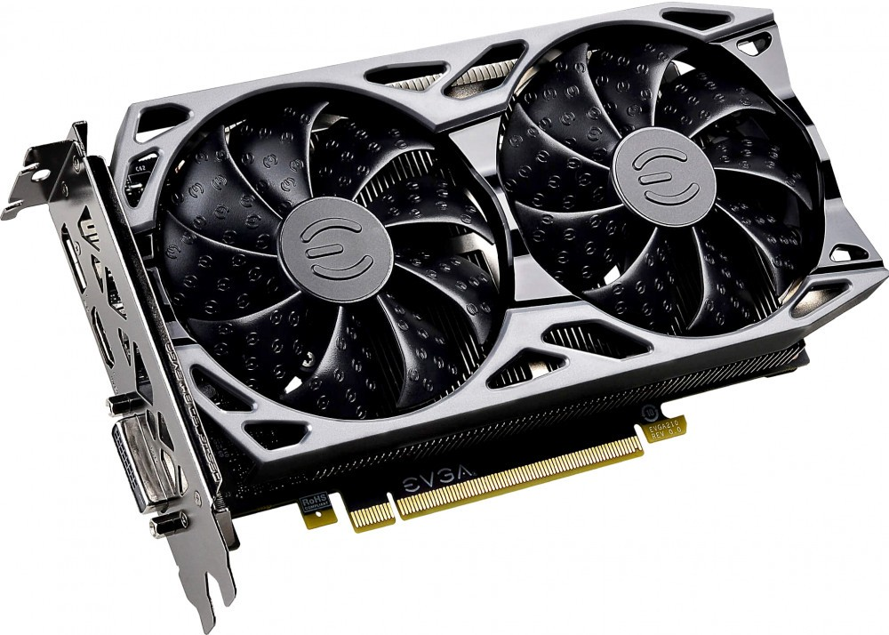 Видеокарта nVidia GeForce GTX1660 EVGA SC ULTRA GAMING PCI-E 6144Mb (06G-P4-1067-KR)