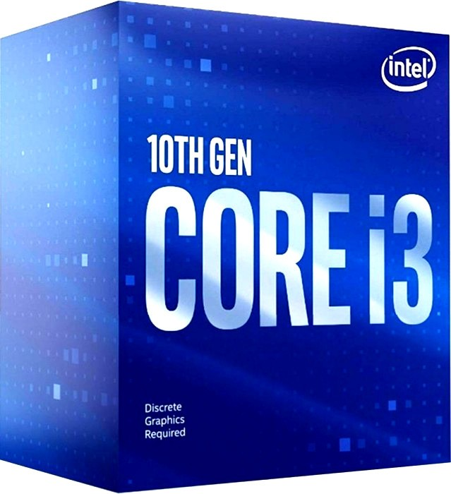Процессор Intel Core i3 - 10100F BOX
