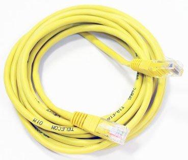 Патч-корд Telecom UTP 5e, 3м (NA102-Y-3M)