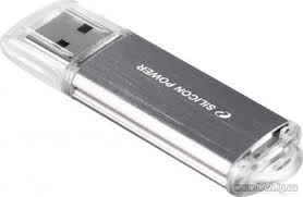 USB Flash накопитель 8Gb Silicon Power Ultima II I-series Silver (SP008GBUF2M01V1S)