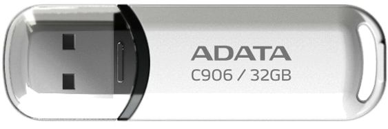 USB Flash накопитель 32Gb ADATA C906 White