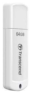 USB Flash накопитель 64Gb Transcend JetFlash 370 White (TS64GJF370)
