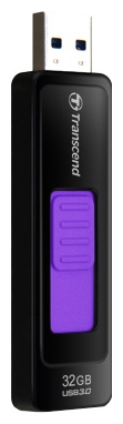 USB Flash накопитель 32Gb Transcend JetFlash 760 Black/Violet (TS32GJF760)