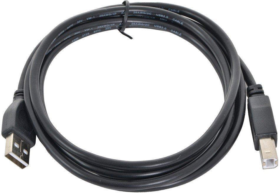 Кабель Gembird USB 2.0 A (M) - B (M), 1.8м (CCP-USB2-AMBM-6)
