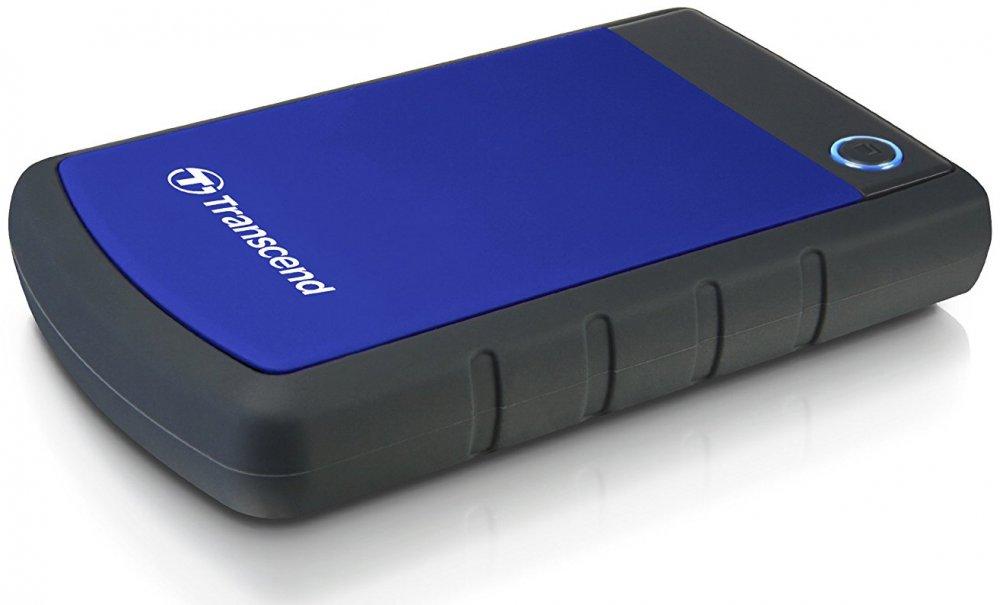 Внешний жесткий диск 4Tb Transcend StoreJet 25H3 Blue (TS4TSJ25H3B)