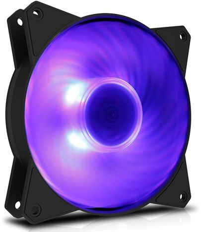 Вентилятор для корпуса Cooler Master MasterFan MF120R RGB (R4-C1DS-20PC-R1)