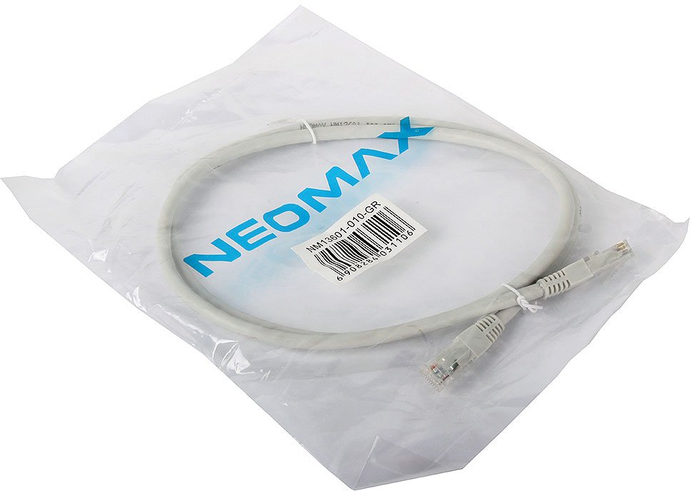 Патч-корд NEOMAX UTP 6, 1м (NM13601-010)