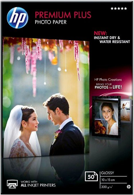 Бумага HP Premium Plus Glossy Photo Paper (CR695A)